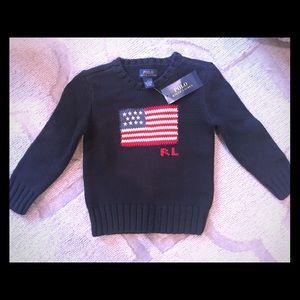Super preppy Ralph Lauren classic sweater